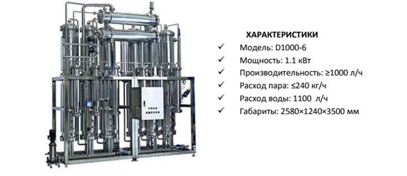 Дистиллятор ВДИ
