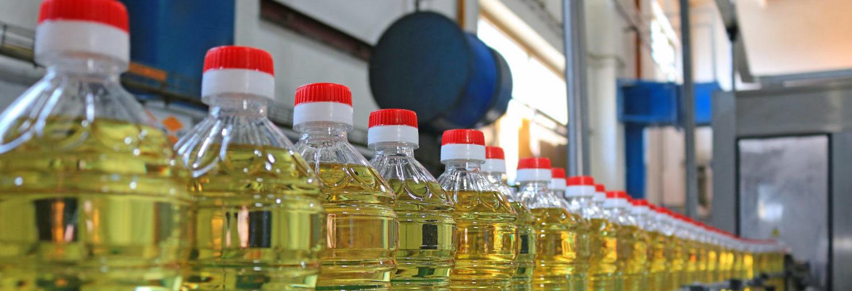 розлив растительного масла