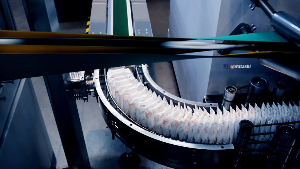 оборудование для производства гигиенических прокладок