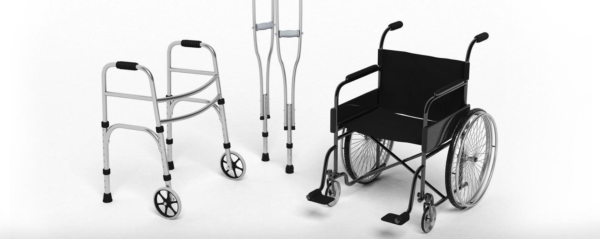 прокат костылей и инвалидных колясок