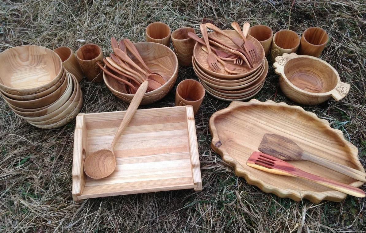 Изготовление деревянной посуды ручной работы