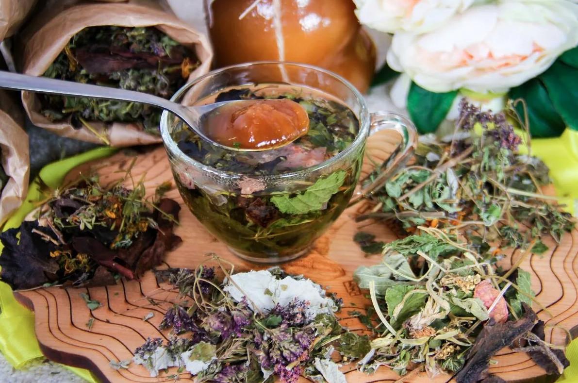 Изготовление травяных чаев