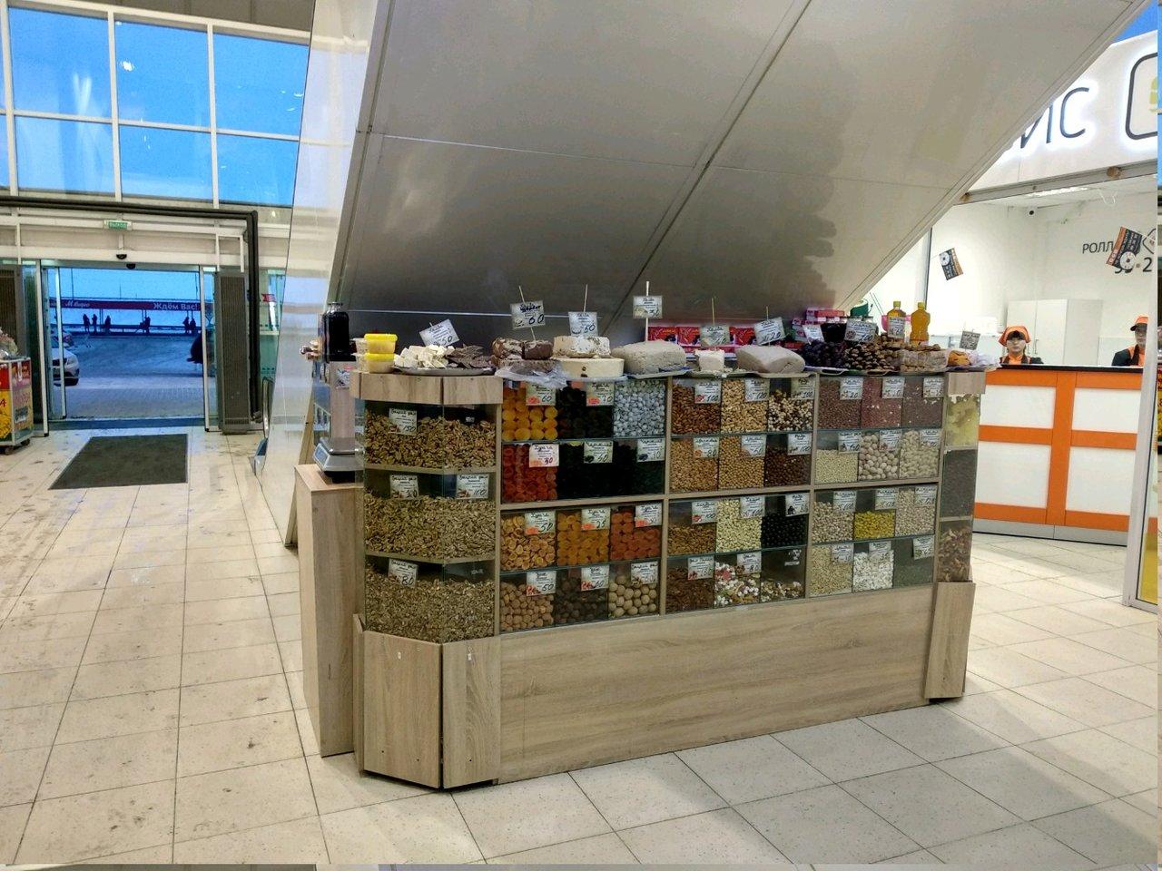 Магазин орехов и сухофруктов