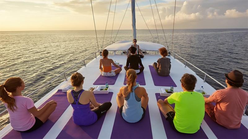 Организация фитнес или йога-туров