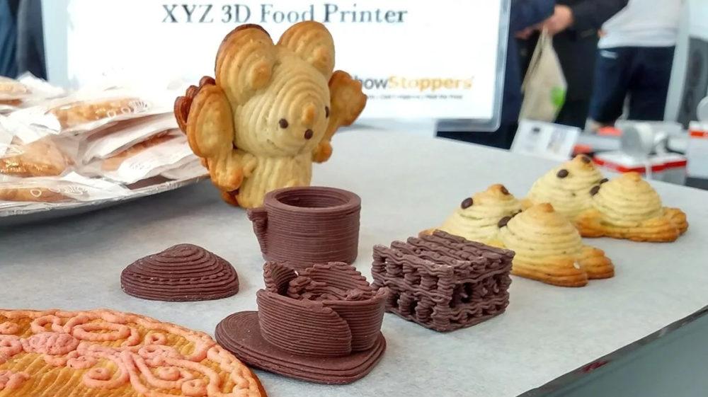 Производство 3D сладостей