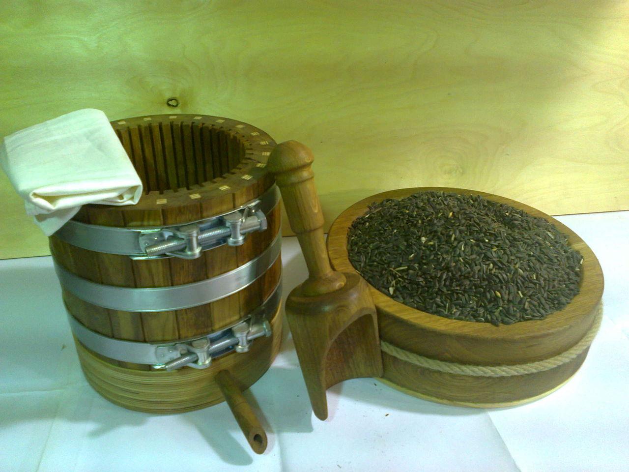 Производство масел холодного отжима на дому