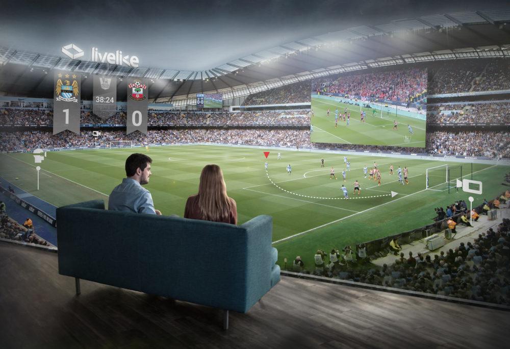 VR-трансляции спортивных матчей