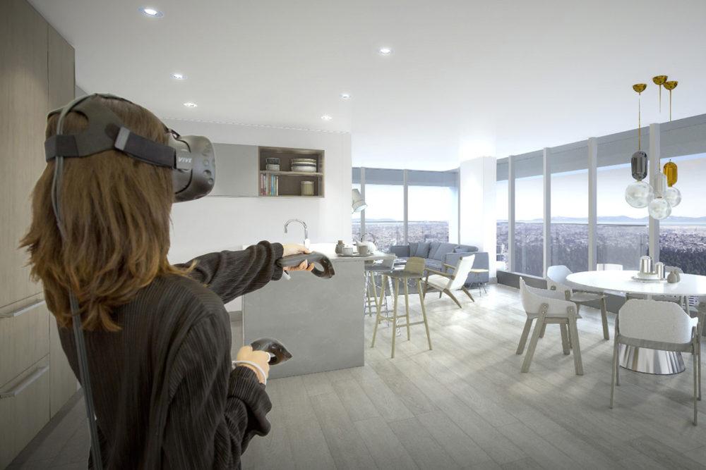 Очки виртуальной реальности для продажи недвижимости